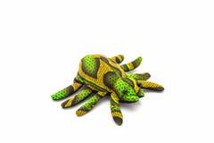 由布料做的人为五颜六色动物 免版税库存图片