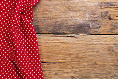 由方格的餐巾做的背景 免版税库存图片