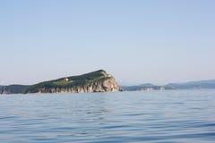 由日本海运的烽火台 库存照片