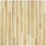 由板条做的米黄木条地板 图库摄影