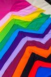 由棉花和纤维做的T恤杉 图库摄影