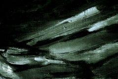 由油的抽象动态绘画在帆布 库存例证
