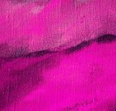 由油的抽象淡紫色绘画在帆布 向量例证