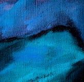 由油的抽象混乱绘画在帆布,例证, backgr 免版税库存图片