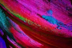 由油的抽象绘画在帆布,例证,背景 库存图片