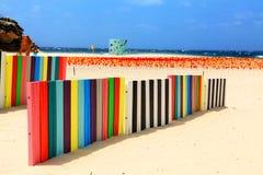 由海展览的雕塑在Bondi澳大利亚 免版税库存图片