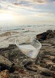 由海展览的雕塑在Bondi,澳大利亚 免版税库存图片