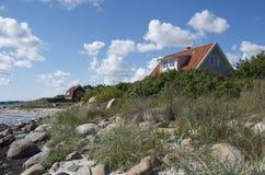 由海岸的瑞典 图库摄影