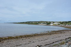 由海湾Gairloch的Gairloch 免版税图库摄影