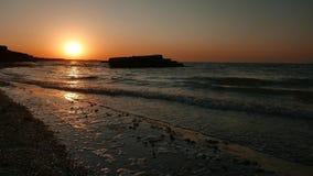 由海的日出,海景 股票视频