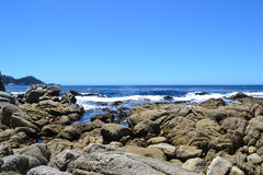 由海的Carmel 免版税图库摄影
