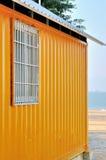 由海边的棚子 库存照片