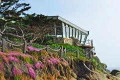 由海,加利福尼亚,美利坚合众国,美国的Carmel 图库摄影