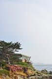 由海,加利福尼亚,美利坚合众国,美国的Carmel 免版税库存图片