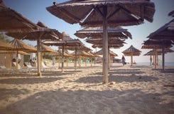 由海滩的夏天 免版税库存照片
