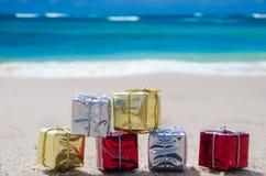由海洋的礼物 库存照片