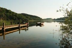 由湖 库存图片