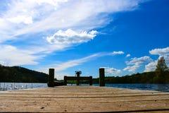 由湖 图库摄影
