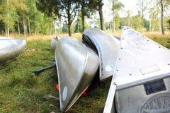 由瑞典人的独木舟 免版税图库摄影