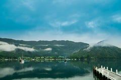 由皮克顿的湖 免版税库存图片