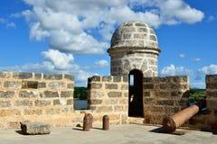 由西恩富戈斯市的Jagua堡垒古巴的 免版税库存照片