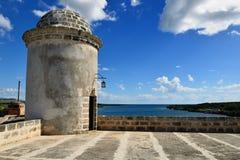 由西恩富戈斯市的Jagua堡垒古巴的 图库摄影