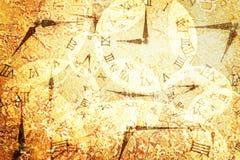 由许多的特写镜头表面抽象样式在减速火箭的黄色大理石地板被构造的背景计时 免版税库存图片
