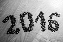 2016由豆做了 免版税库存图片
