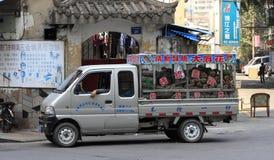 卡车销售多年生草本植物 免版税库存图片