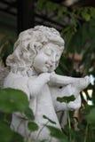 由陶瓷做的天使 库存图片