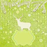 由雪花做的圣诞节装饰品。EPS 8 图库摄影