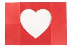 2由4白色心脏 免版税库存照片