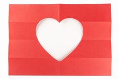 4由2白色心脏 免版税库存照片