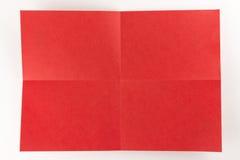 2由2红色页 免版税库存照片