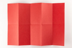 2由5红色页 库存图片