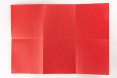 2由3红色页 免版税库存图片