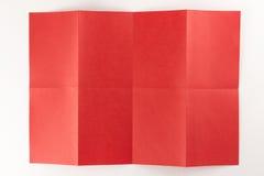 2由4红色页 免版税库存照片