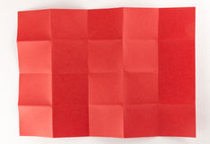 4由5红色页 图库摄影