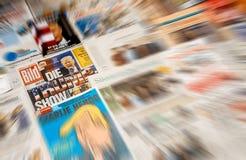由主要国际性组织ne死Bild和唐纳德・川普就职典礼 免版税库存照片