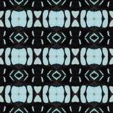 由backgroun的五颜六色的蝴蝶翼做的无缝的样式 免版税图库摄影