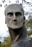 由E. Chubarov的木雕塑构成 免版税库存图片