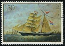 由ivankovic的脉管的双桅船Sela 免版税库存照片