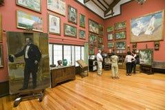 由Joaquï ¿ ½ n Sorolla如在Sorolla博物馆,马德里,西班牙中看到的y巴斯蒂达的绘画(1863-1923) 免版税库存图片