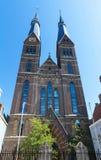 由P.J.H的Posthoornkerk教会 J H 在1863年Cuypers修造了,阿姆斯特丹,荷兰 库存照片