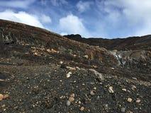 由Upsala冰川-最大它在南美洲 库存照片