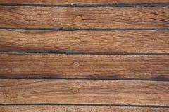 甲板在船 木纹理 表面 browne 库存照片