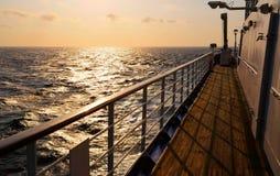 甲板船 免版税图库摄影