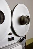 甲板记录员对葡萄酒的卷轴磁带 免版税图库摄影