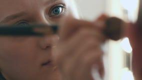申请在演员的化妆师构成 股票视频