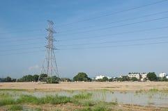电传输塔05 库存图片